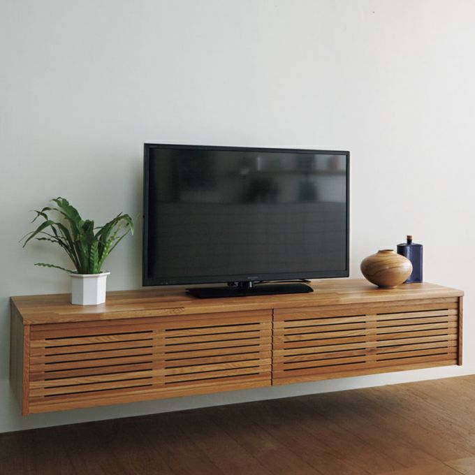 WOODONE 無垢の木システム収納 TVボードプラン 002_BF-001